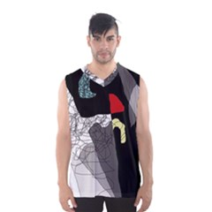 Decorative abstraction Men s Basketball Tank Top