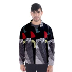 Decorative abstraction Wind Breaker (Men)
