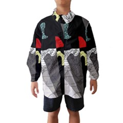 Decorative abstraction Wind Breaker (Kids)