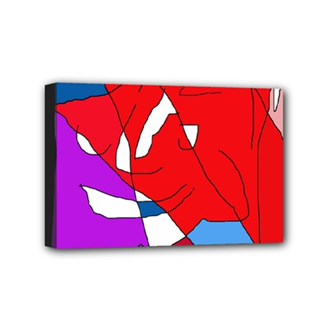 Colorful abstraction Mini Canvas 6  x 4