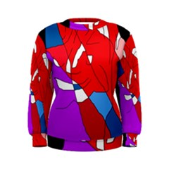 Colorful abstraction Women s Sweatshirt