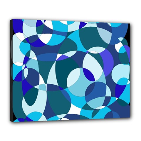 Blue abstraction Canvas 20  x 16