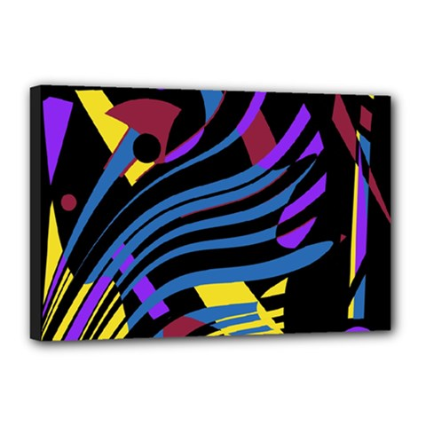 Optimistic abstraction Canvas 18  x 12