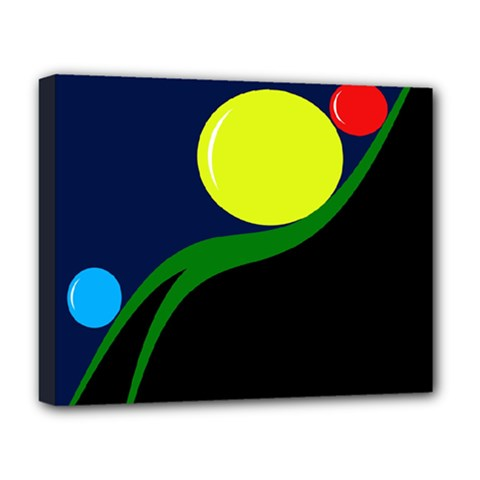 Falling  ball Deluxe Canvas 20  x 16