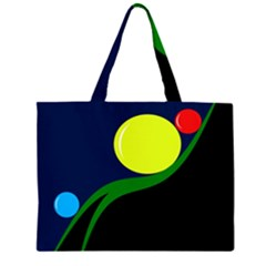 Falling  ball Large Tote Bag