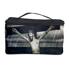 Jesus On The Cross At The Sea Cosmetic Storage Case
