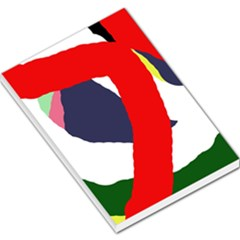 Beautiful abstraction Large Memo Pads