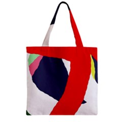 Beautiful abstraction Zipper Grocery Tote Bag