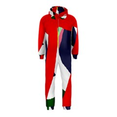 Beautiful abstraction Hooded Jumpsuit (Kids)