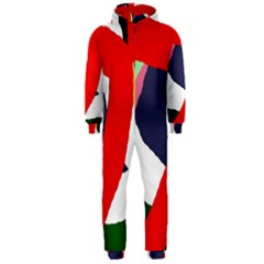 Beautiful abstraction Hooded Jumpsuit (Men)