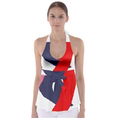 Beautiful abstraction Babydoll Tankini Top
