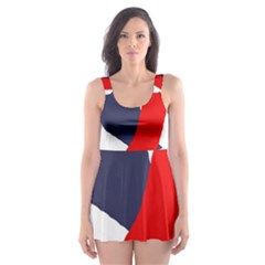 Beautiful Abstraction Skater Dress Swimsuit