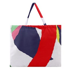 Beautiful abstraction Zipper Large Tote Bag