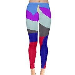 Crazy abstraction Leggings