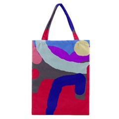 Crazy abstraction Classic Tote Bag