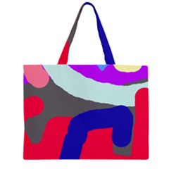Crazy abstraction Large Tote Bag