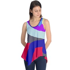 Crazy abstraction Sleeveless Tunic