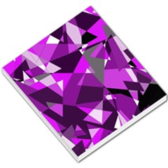 Purple broken glass Small Memo Pads