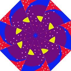 Optimistic abstraction Hook Handle Umbrellas (Medium)