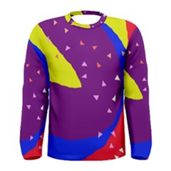 Optimistic abstraction Men s Long Sleeve Tee