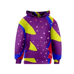 Optimistic abstraction Kids  Pullover Hoodie