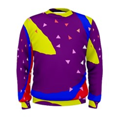 Optimistic abstraction Men s Sweatshirt