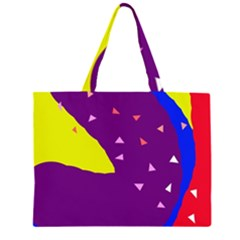 Optimistic abstraction Large Tote Bag