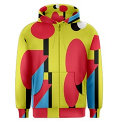 Abstract landscape Men s Zipper Hoodie
