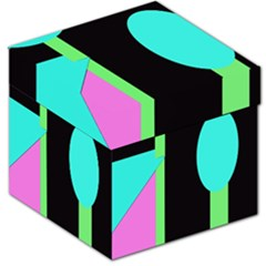 Abstract landscape Storage Stool 12