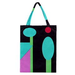 Abstract landscape Classic Tote Bag