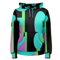 Abstract landscape Women s Pullover Hoodie