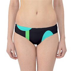 Abstract landscape Hipster Bikini Bottoms