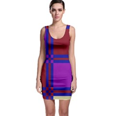 Deorative design Sleeveless Bodycon Dress