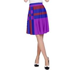Deorative design A-Line Skirt
