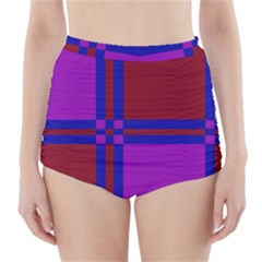 Deorative design High-Waisted Bikini Bottoms