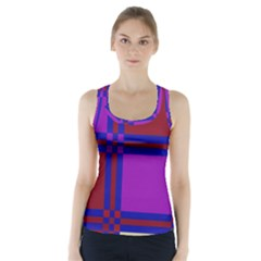 Deorative design Racer Back Sports Top