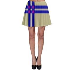 Elegant lines Skater Skirt