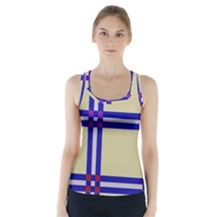 Elegant lines Racer Back Sports Top