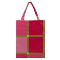 Red and green Classic Tote Bag