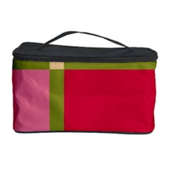 Red and green Cosmetic Storage Case