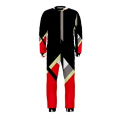 Red and black abstraction OnePiece Jumpsuit (Kids)