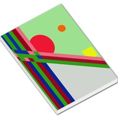 Decorative abstraction Large Memo Pads