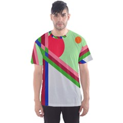 Decorative abstraction Men s Sport Mesh Tee