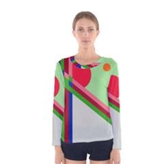 Decorative abstraction Women s Long Sleeve Tee