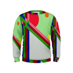 Decorative abstraction Kids  Sweatshirt