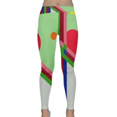Decorative abstraction Yoga Leggings