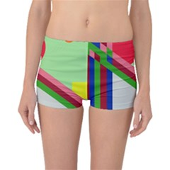 Decorative abstraction Boyleg Bikini Bottoms