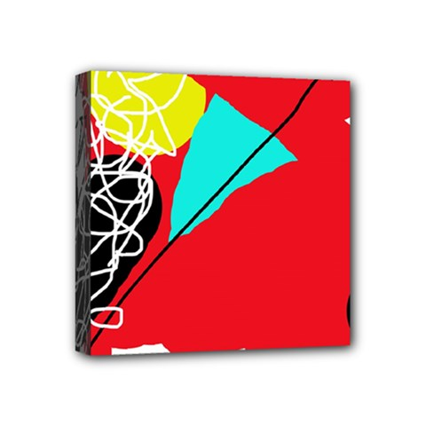 Colorful abstraction Mini Canvas 4  x 4