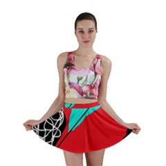 Colorful abstraction Mini Skirt