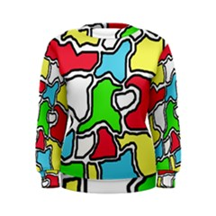 Colorful abtraction Women s Sweatshirt